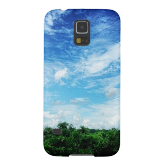 Bright Blue Sky (Nature and Landscapes) Galaxy S5 Case