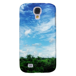 Bright Blue Sky (Nature and Landscapes) Galaxy S4 Cover