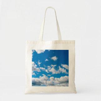 Bright Blue Sky Tote Bag