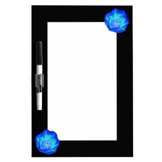 Bright Blue Tulip Memo Board