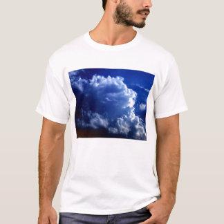 Bright Blue&White Cumulonimbus incus by KLM T-Shirt