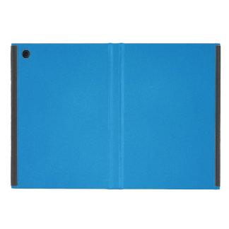 Bright Blue with Grainy Texture iPad Mini Cover
