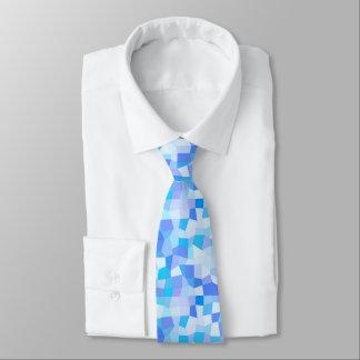 Bright Blues Mosaic Neck Tie