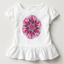 Bright Bohemian Boho Hippy Chic Love Pattern Toddler T-shirt