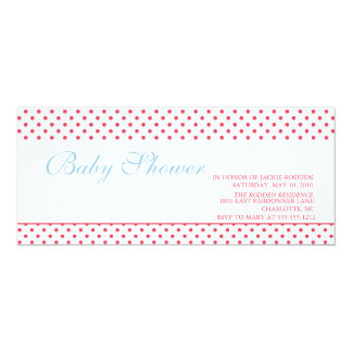 bright & bold baby shower card