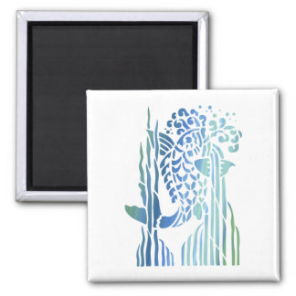 Bright Bold Colorful Fancy Fish Tees, Gifts Fridge Magnets