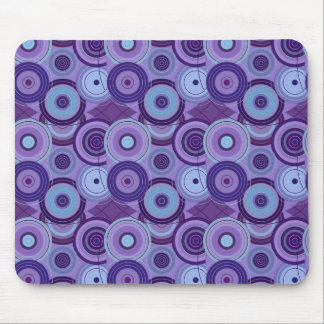 Bright Bold Colorful Unique Digital Art Abstract Mouse Pad