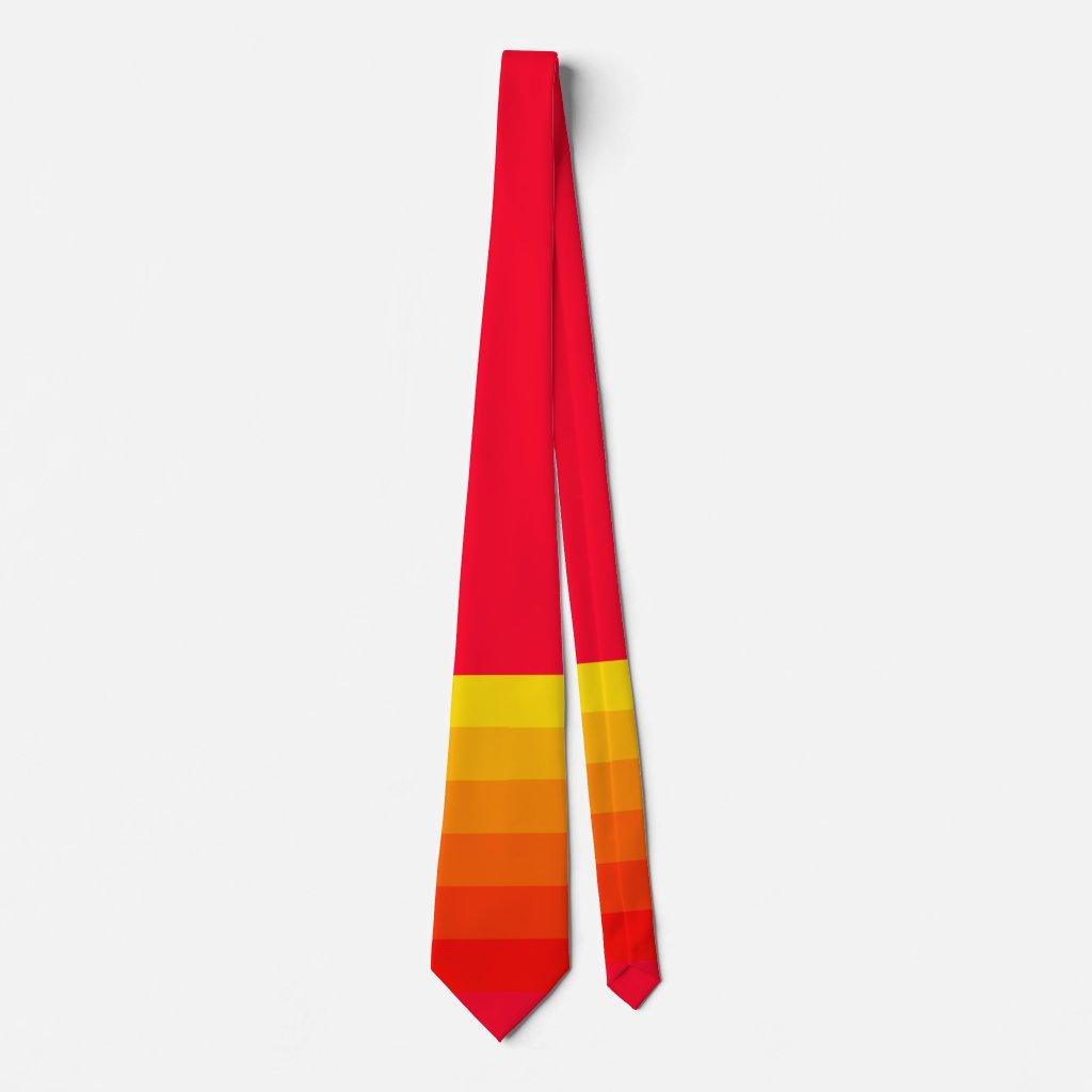 Bright Bold Summer Colors Colorful Fun Artsy Tie