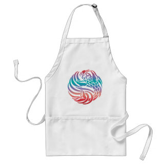 Bright Bold Summery Colorful Fancy Fish Tees Gift Aprons