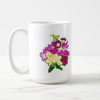 Bright Bouquet mug mug