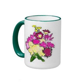Bright Bouquet mug