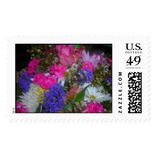 bright bouquet stamp