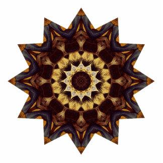 Bright Brown Star Cutout