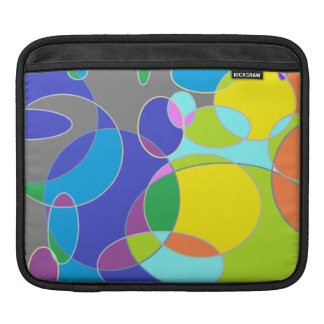 Bright Bubble Tangerine Sleeve For iPads