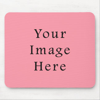 Bright Bubblegum Pink Color Trend Blank Template Mouse Pad