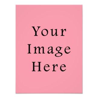 Bright Bubblegum Pink Color Trend Blank Template Photo Print