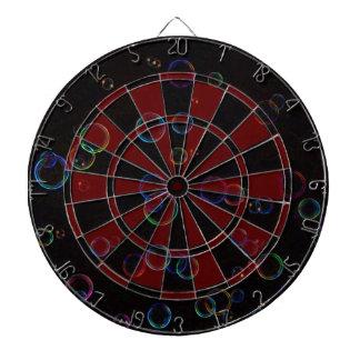 Bright bubbles dart board