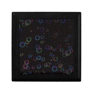 Bright bubbles keepsake box