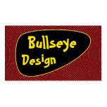 Bright Bullseye Business Card