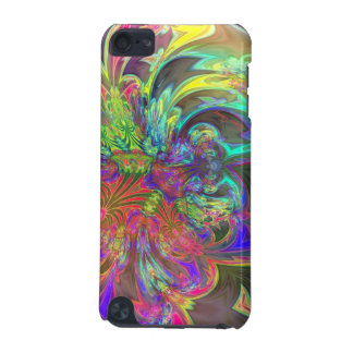 Bright Burst of Color – Salmon & Indigo Deva iPod Touch 5G Case