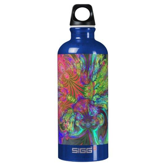 Bright Burst of Color – Salmon & Indigo Deva Water Bottle
