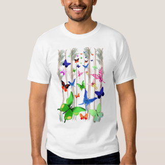 *Bright Butterflies and Forest T-Shirt