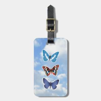 Bright Butterflies Bag Tag