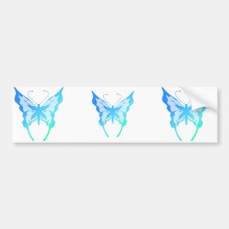 Bright Butterflies Bumper Sticker