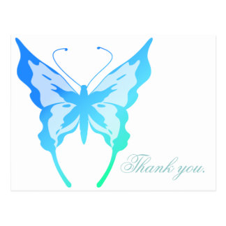 Bright Butterfly Business Postcard