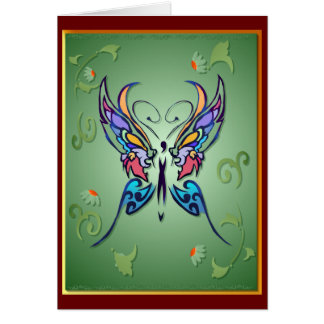 Bright Butterfly Card