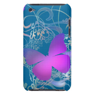 Bright Butterfly Barely There iPod Case