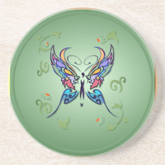 Bright Butterfly Coaster