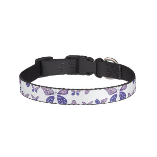 Bright Butterfly Drawing Pattern Pet Collar