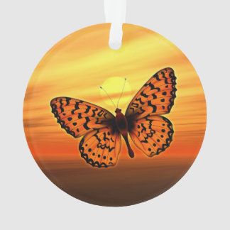 Bright Butterfly Ornament