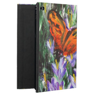 Bright butterfly patterned iPad Air case