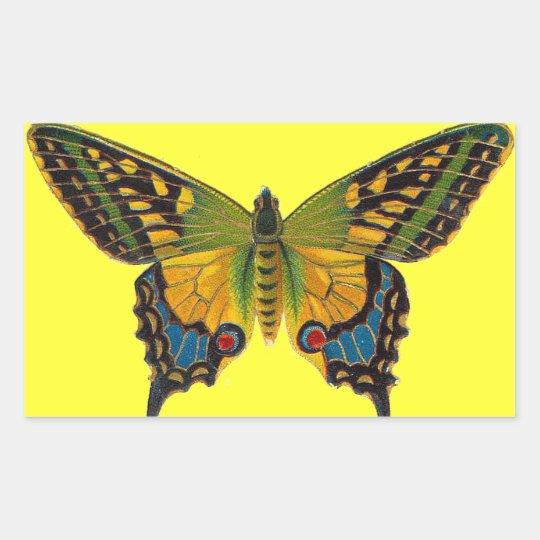 Bright Butterfly Sticker
