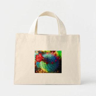Bright Cactus Mini Tote Bag