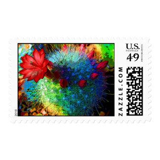 Bright Cactus Postage