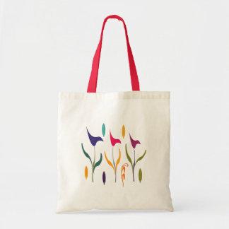 Bright Calla Lilly Watercolor Impression Tote Bag