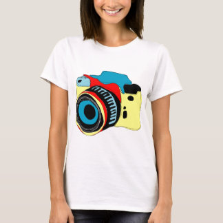 Bright camera illustration T-Shirt