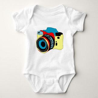 Bright camera illustration t shirt