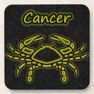 Bright Cancer Beverage Coaster