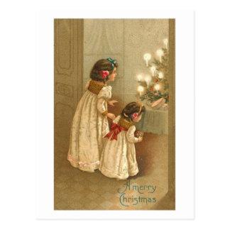 Bright Candles Card Postcard
