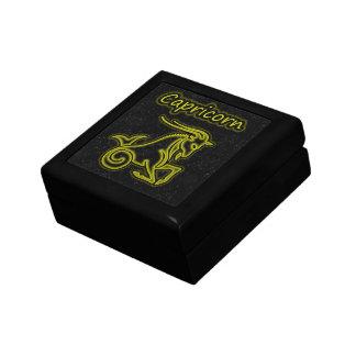 Bright Capricorn Jewelry Box