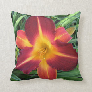 Bright Carnival Throw Pillow