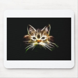 Bright cat mouse pad