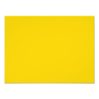 Bright Caution Yellow Color Trend Blank Template Photo