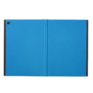 Bright Cerulean Blue with Grainy Texture Powis iPad Air 2 Case