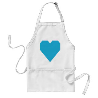 Bright Cerulean.png Adult Apron