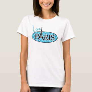 Bright Cerulean Quatrefoil T-Shirt